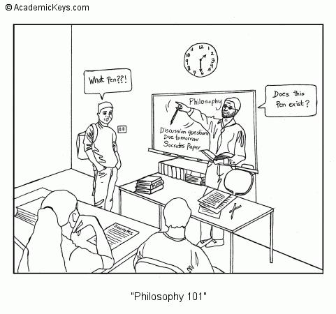 Cartoon #68, Philosophy 101